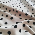 SPOTS FRENCH TERRY BEIGE